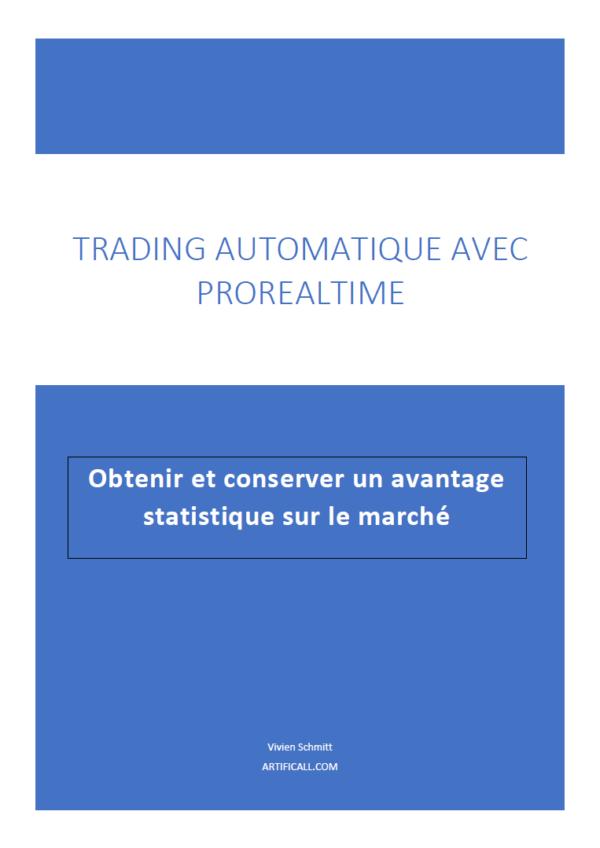 Ebook Trading Automatique ProrealTime